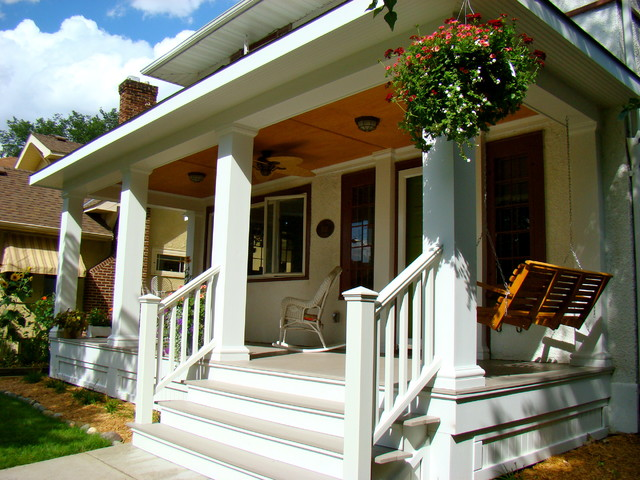 A New Front Porch Traditional