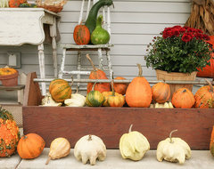 Autumn Porches eclectic-porch