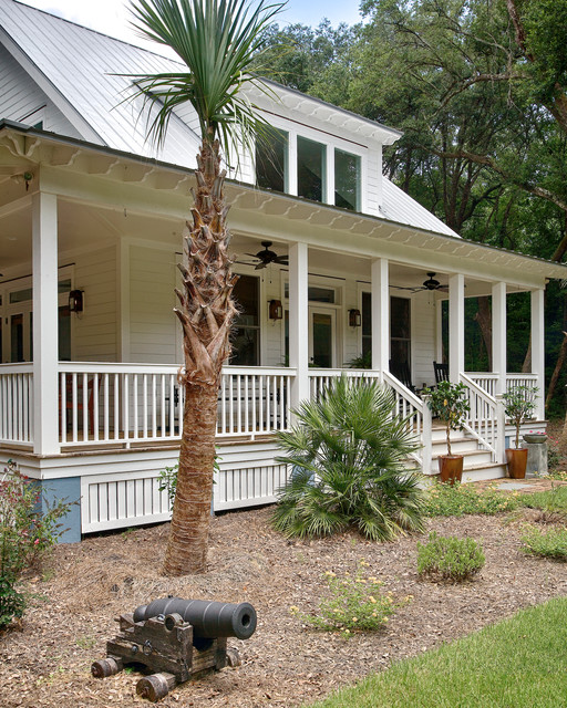 A Southern Man S Retreat Tropical Porch Charleston