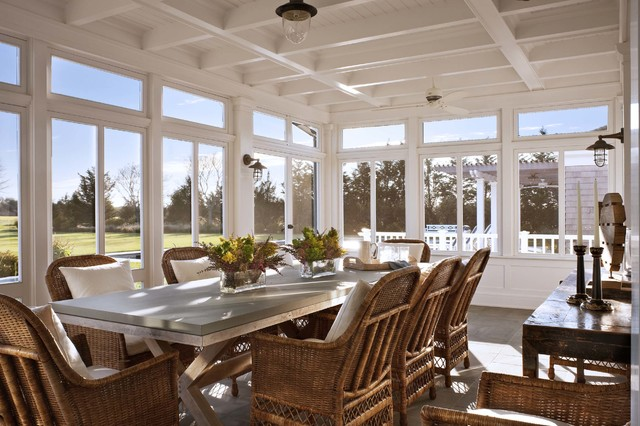 A Summer Cottage In The Hamptons Traditional Porch