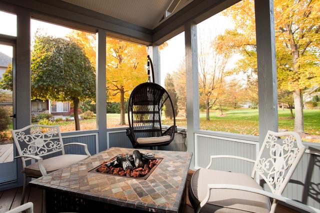 Admiral Way 3-Season Porch Proejct contemporary-porch