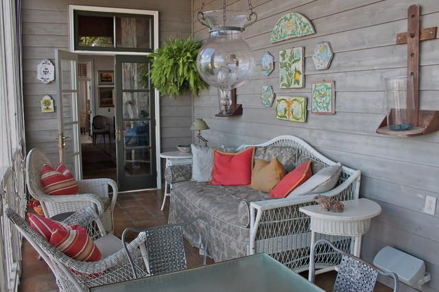 Alabama Lake Home traditional-porch