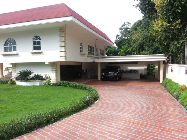 Altos del Golf Mansion mediterranean-porch