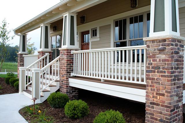 American bungalow craftsman exterior - Traditional - Porch ...