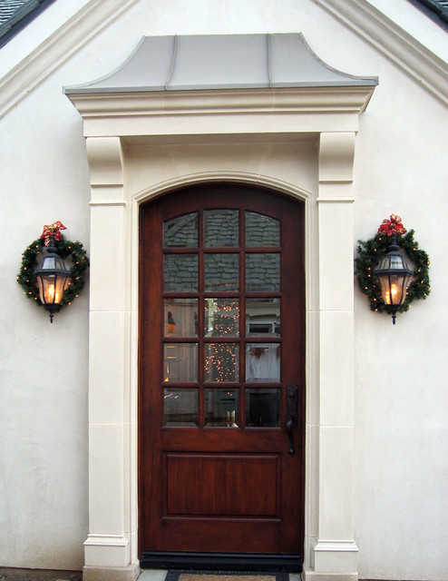 Amhurst Cast Stone Door Surround Traditional Porch