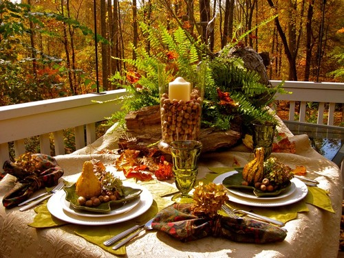 Create Elegant Outdoor Spaces for Fall | Geralin Thomas | Raleigh, NC