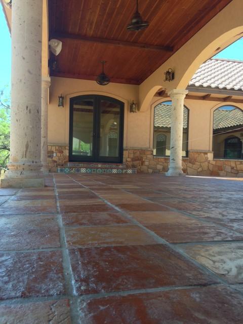 reclaimed terracotta tiles mediterranean - photo #33