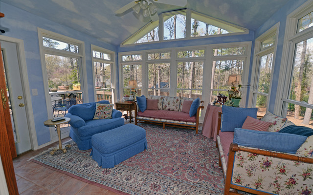 Atlanta Georgia Custom Homes Traditional Porch