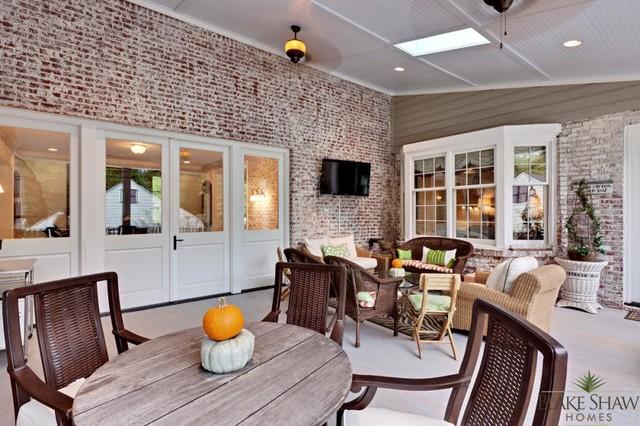 Avondale Estates Renovation traditional-porch