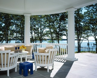 Awarded Top 50 American Homes by TRENDS traditional porch
