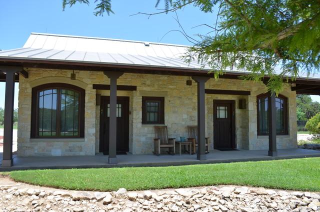 Bandera Lodge Contemporary Porch Austin By Texas