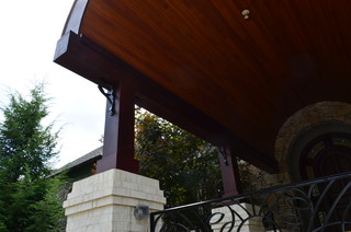 Barrel Vaulted Copper Arched Roof in Upper St. Clair (Pittsburgh), PA - Transitional - Porch ...