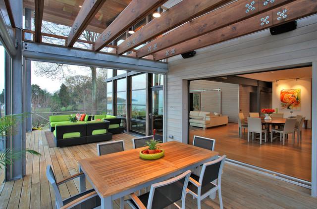 bay house modern-porch