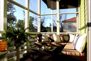 Bayou St John New Orleans Contemporary Porch New