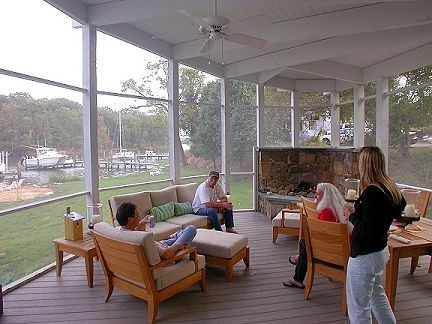 Bayside Bliss contemporary-porch