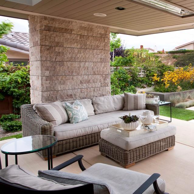Outdoor Designs beach modern outdoor living - traditional - verandah - san diego