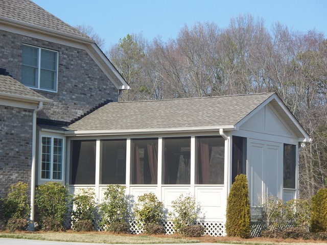 Kolby Construction Charlotte: Beautiful Screened In Porch/Outdoor Room