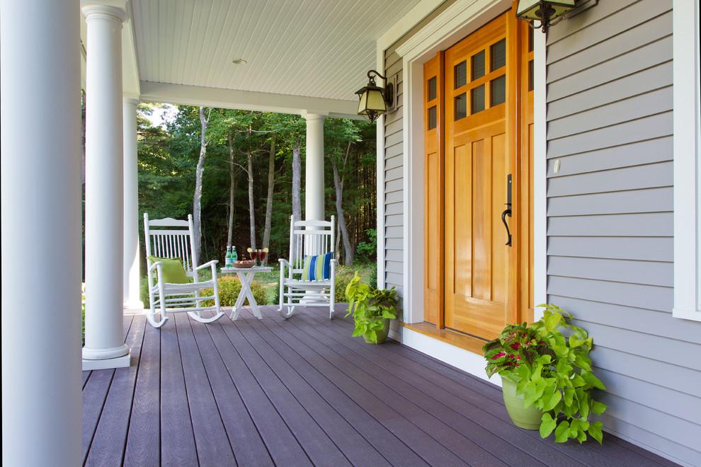 Classic porch idea in Orange County