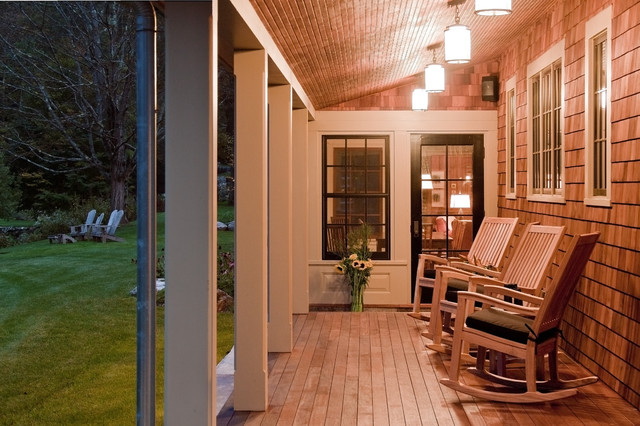 Berkshires Residence traditional-porch