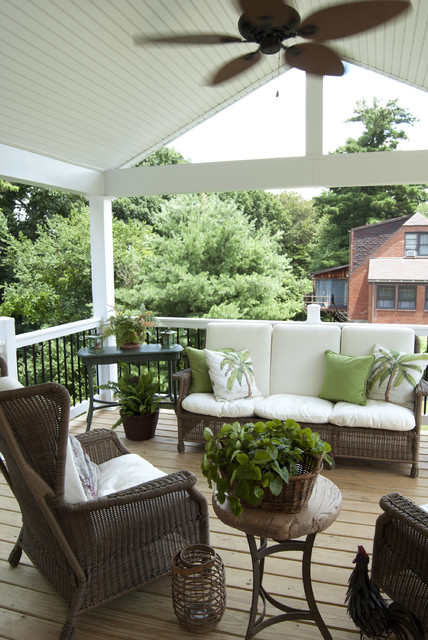 Blair+Donna: McKnight, Pennsylvania traditional-porch