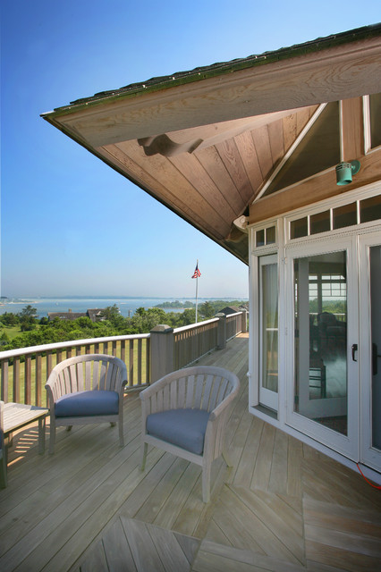 Block island cottages traditional porch providence for Block island cottage