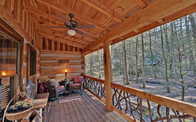 Blue Ridge Georgia Cabins Traditional Porch Atlanta