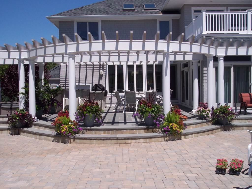 Bluestone Patios By Designscapes of Long Island Patio Designers & Installers