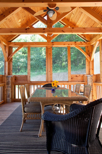 Bowman Residence Rustic Porch Baltimore By Phil