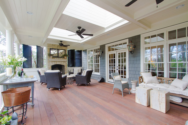 Brookhaven traditional-porch