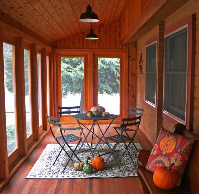 Brookline traditional-porch