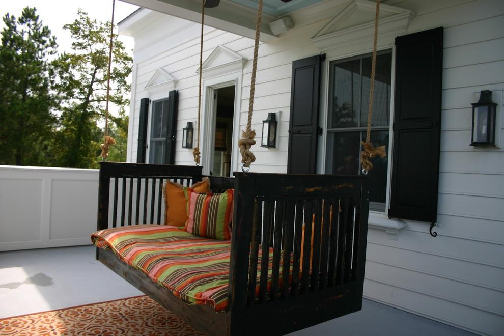 Classic porch idea in Charleston