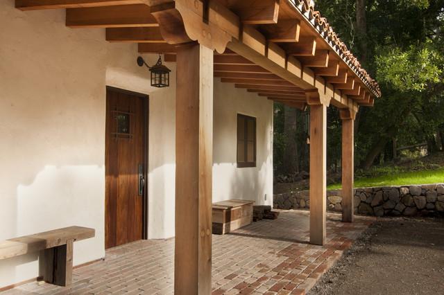 Buffalo Valley - Caretaker's House - Mediterranean - Porch - san francisco - by FGY Architects