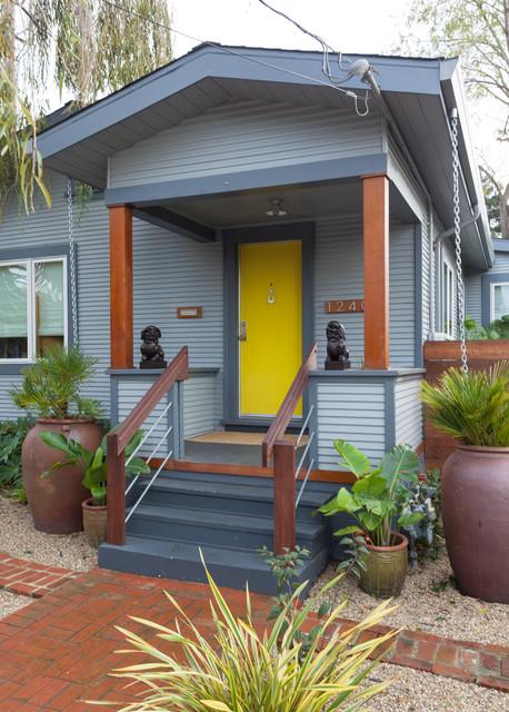 Bungalow Porch Contemporary Verandah