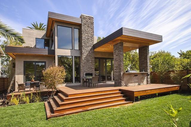 Burlingame Residence Contemporary Porch San
