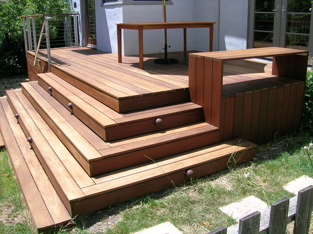 buzzs deck modern porch