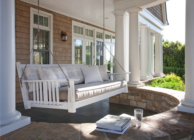 California Cape Cod Traditional Porch San Diego By Lori Gentile Interior Design