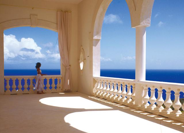 Caribbean Island tropical-porch