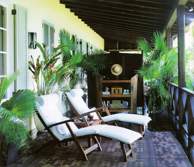 Small Front Porch Design Ideas For The Caribbean: Caribbean Villa III
