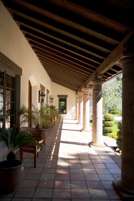 Carvin Residence mediterranean-porch