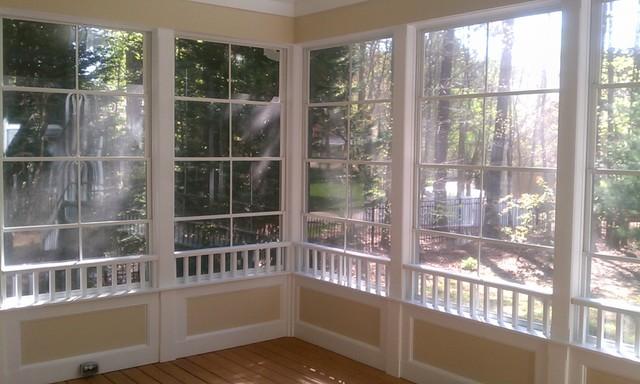 Cary 3 Season Room traditional-porch