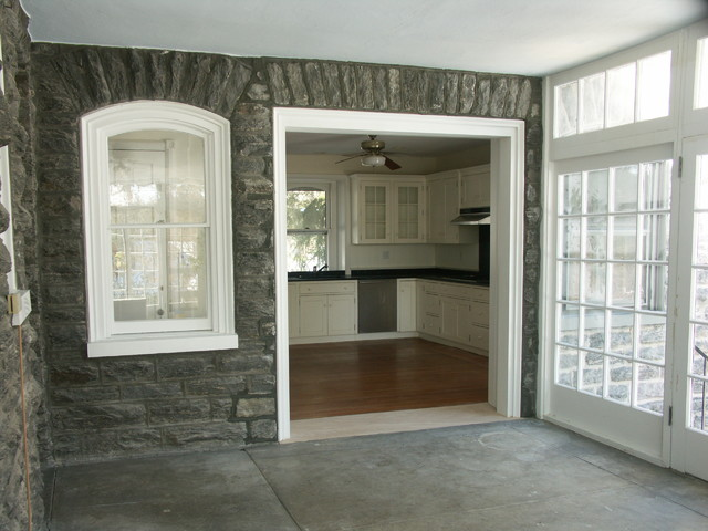 Cased Opening Traditional Porch Philadelphia By