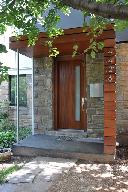 Cavalcanti Entry Porch modern porch