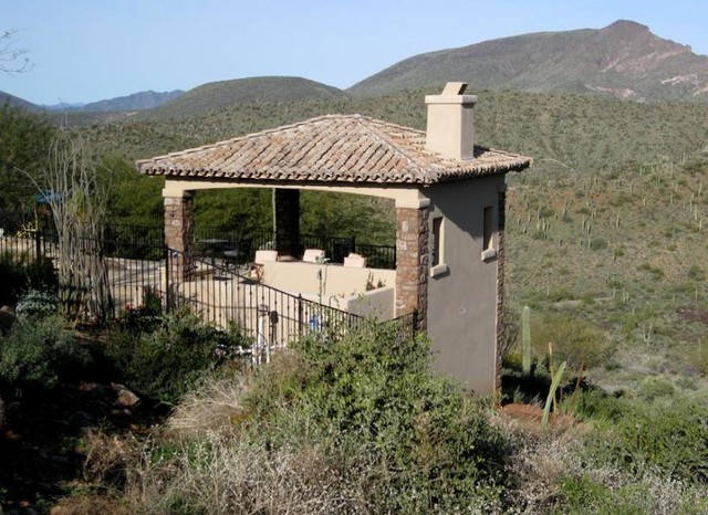 Cave Creek Hillside Estate mediterranean-porch