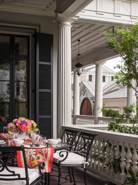 Charleston Victorian Porch Charleston By Slc Interiors