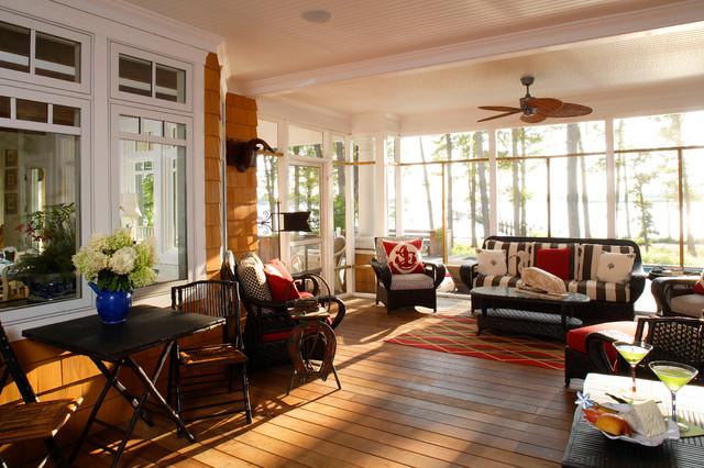 Chesapeake Retreat beach-style-porch