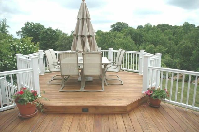 Cheshire connecticut wooden deck and outdoor room for Garden rooms cheshire