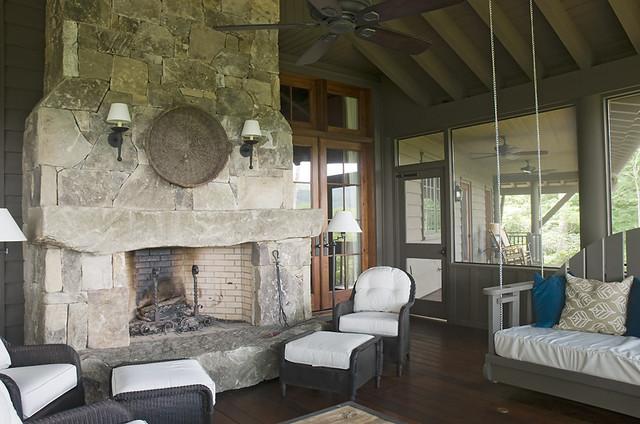 Chinquapin rustic-porch