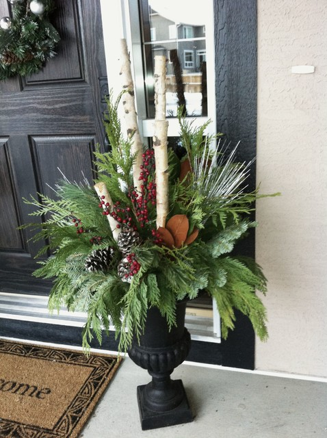 Christmas Decor Traditional Porch Calgary By Your
