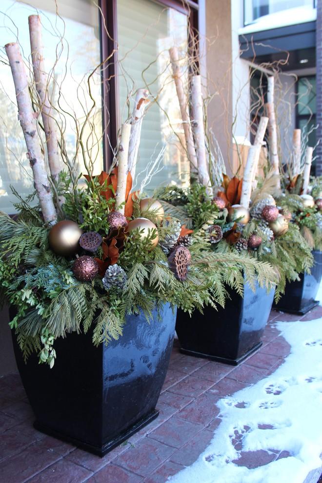 Arts and crafts porch idea in Calgary