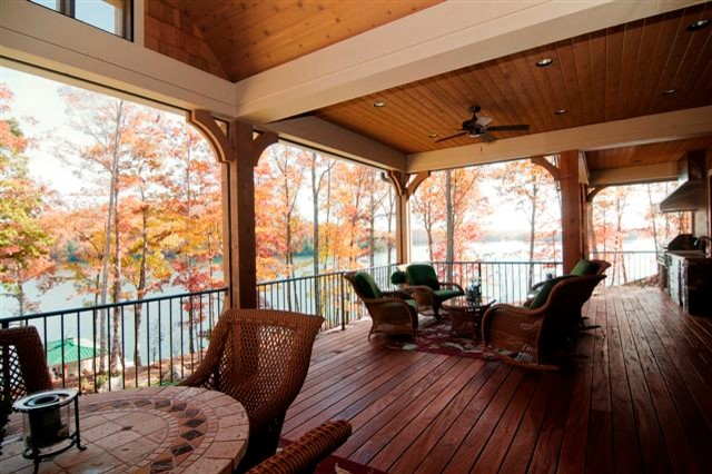 The Harrell Residence traditional-porch
